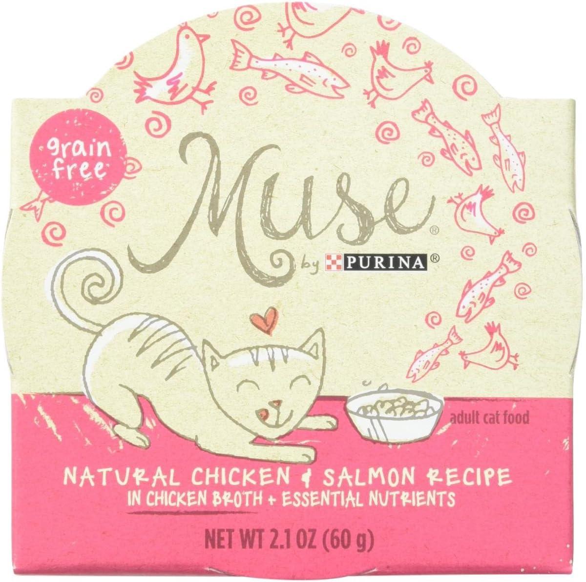 Muse Grain-Free Natural Filets Wet Cat Food