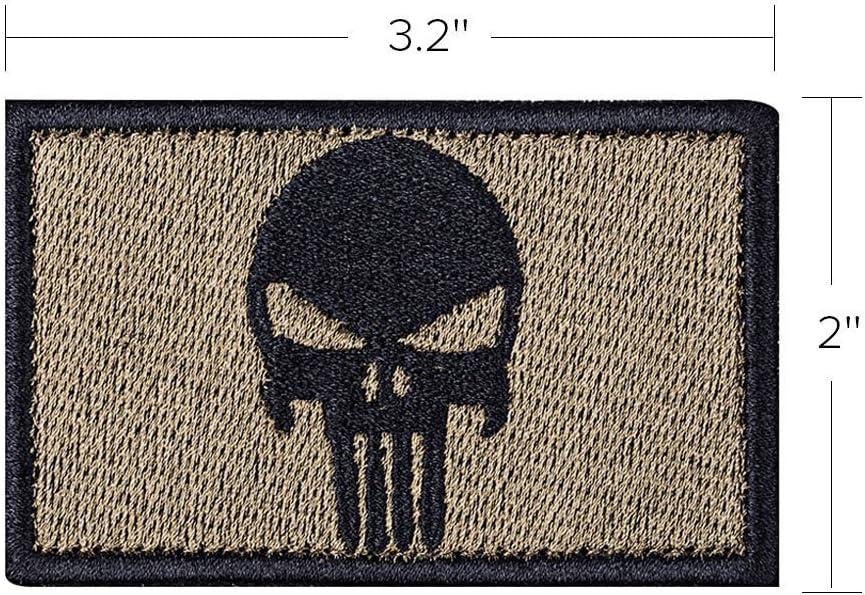 SMAGREHO taktisches Klett Patch milit/ärischer Abzeichen mit Stickerei und Klettband f/ür Airsoft Paintball Lasergame