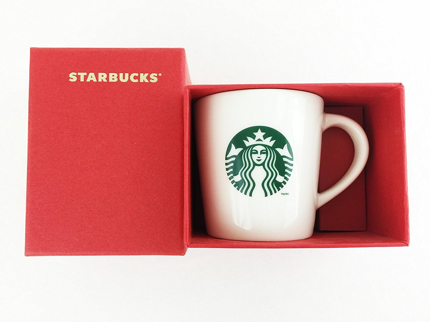 Amazon.com | Starbucks Boxed Demi Cup - White with Logo, 3 Fl Oz ...
