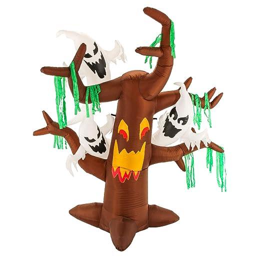 Halloween Haunters - Árbol de Navidad Hinchable con 6 pies, con ...