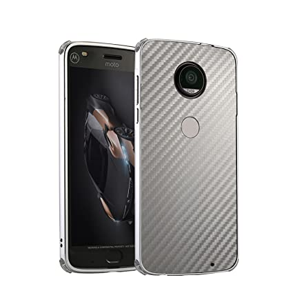 Amazon.com: DAMONDY Moto G6 Plus Case, Luxury Carbon Fiber ...
