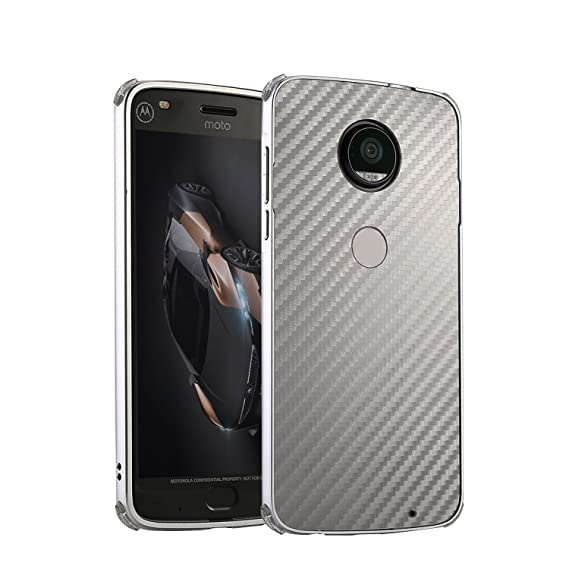 Amazon.com: HIKERCLUB Moto Z Play Case Luxury Aluminum ...