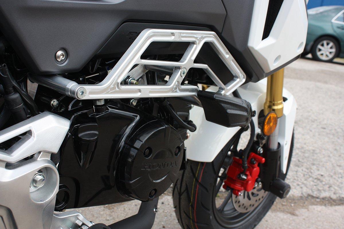 T-Rex Racing 2017-2019 Honda Grom MSX125 Engine Guard Crash Cages White