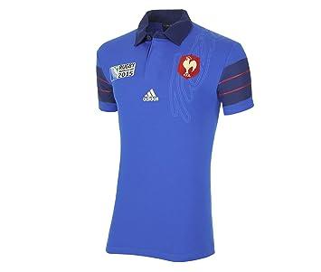 36b90795dcb8 Maillot de Rugby Equipe de France FFR ADIDAS PERFORMANCE - Bleu - Taille M