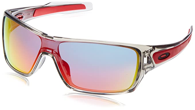 a8f732a89a Image Unavailable. Oakley Men s Turbine Rotor Non-Polarized Iridium  Rectangular Sunglasses ...