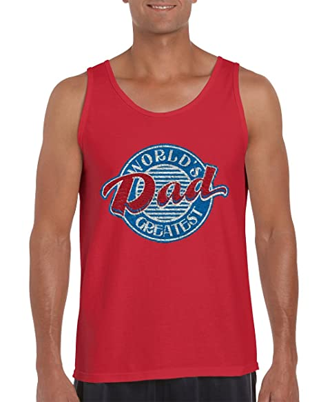 5830fa509b5df Image Unavailable. Image not available for. Color  H T Shirts Father s Day  Gifts Tank Tops for Men ...