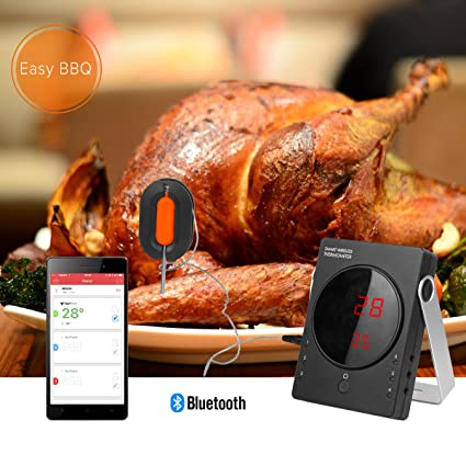 Termómetro de Barbacoa Profesional WEINAS® Termómetro Digital de Cocina para Carne y Alimento (Juego