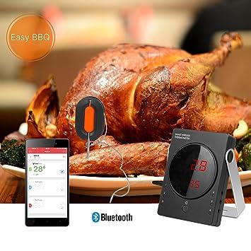 termmetro de barbacoa profesional weinas termmetro digital de cocina para carne y alimento juego