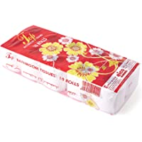 Top Super Soft Toilet Paper Roll Tissue 150 Sheets x 2 Ply (Pack of 10 Rolls)