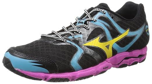 arrives 1ed0b 43e90 Mizuno Men s Wave Hitogami Running Shoe,Black,7 ...