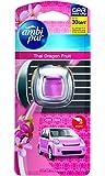 Ambi Pur Car Mini Clip Thai Dragon Fruit Car Air Freshener 2ml