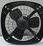 Rigglo Fresh Air Exhaust Fan for Kitchen/Bathroom (Metallic Black, 9 Inch)