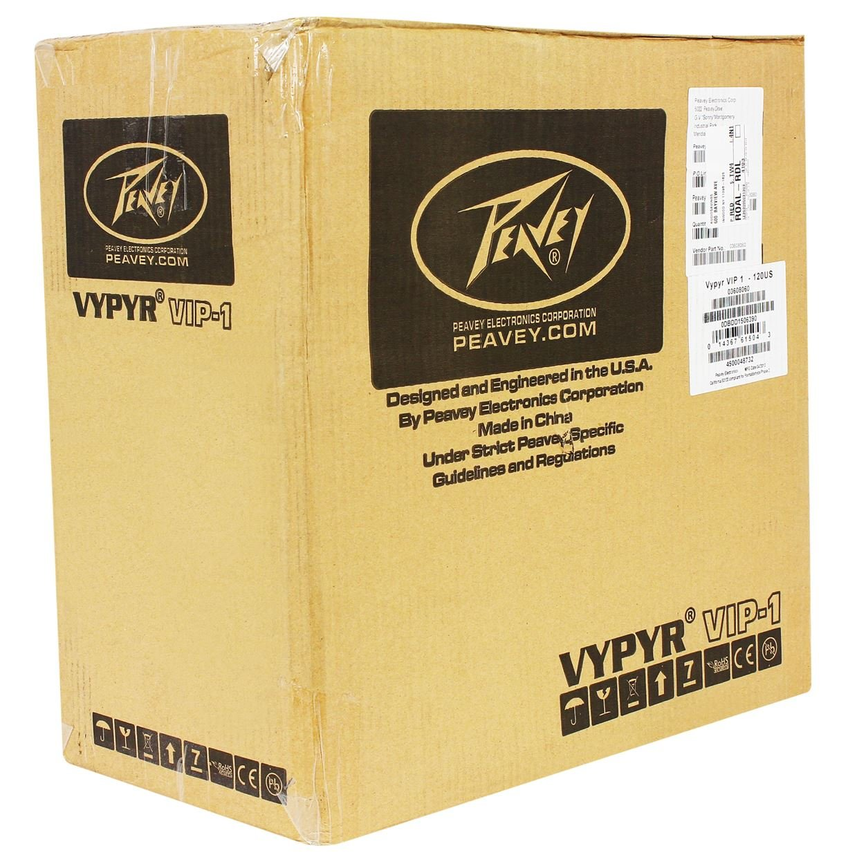 Peavey Vypyr VIP 1 20 Watt 1x8 Combo Practice Guitar Amplifier+Instrument Cable by Peavey (Image #6)