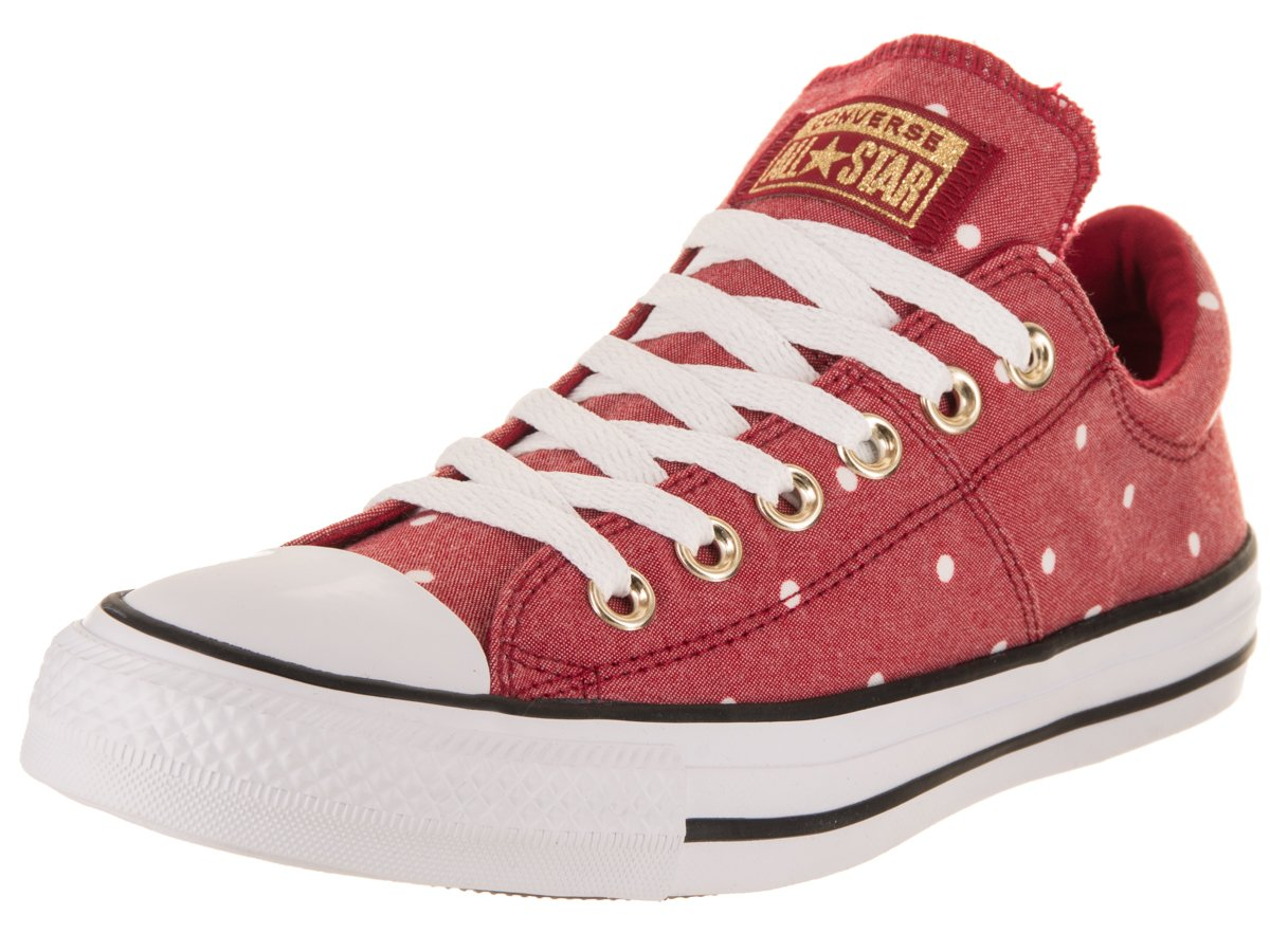 Converse Women's Chuck Taylor All Star Madison Ox Casual Shoe B076TCKTNF 6.5 B(M) US|Gym Red/Gold/White