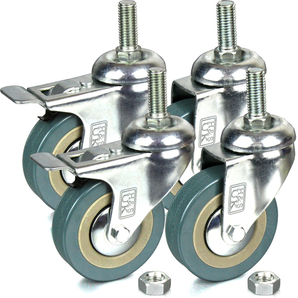 H&S® 4 x Heavy Duty 50mm Rubber Swivel Castor Wheels Trolley ... on furniture trailers, furniture depot, furniture made in mexico, furniture clearance, furniture locks, furniture sale signs, furniture casters, furniture made from books, furniture kits, furniture levelers, furniture restoration supplies, furniture accessories, furniture upholstery, furniture legs, furniture rollers, furniture clothing, furniture storage box, furniture painting, furniture home, furniture coasters to protect hardwood floors,