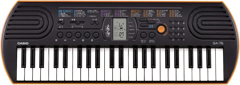 Casio SA-76 Mini Keyboard w// Power Adapter