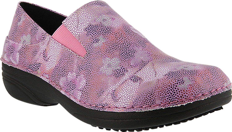 Spring Step Women's Ferrara Work Shoe,Lilac Mosaic,6.5 B(M) US