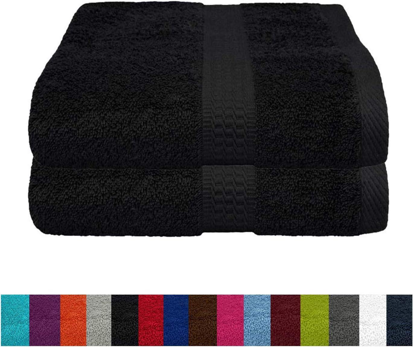 Serviette de sauna 100 /% coton /éponge 80 x 200 cm CelinaTex Bari argent/é Coton 80 x 200 cm