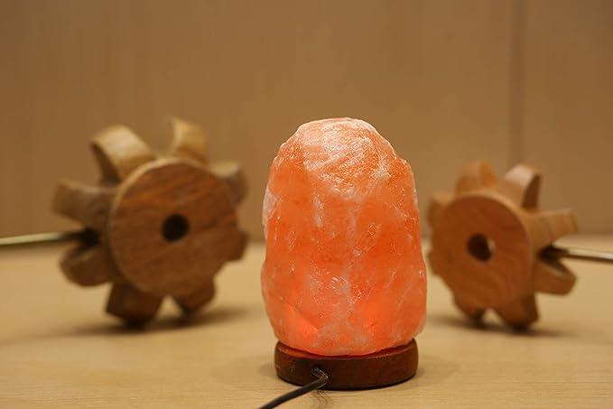 Feng Rui Lámpara de Sal del Himalaya lámpara de Cristal de ...