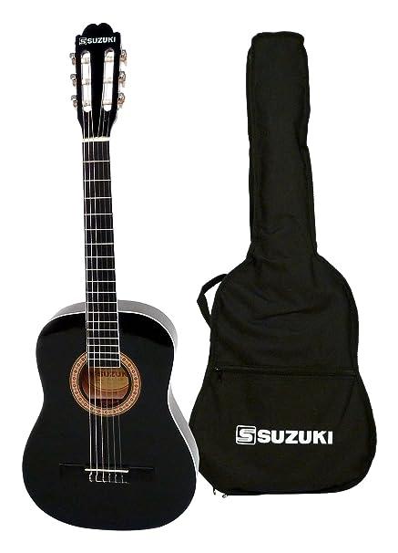 Suzuki SCG2 + 1/2BK guitarra clásica Beige