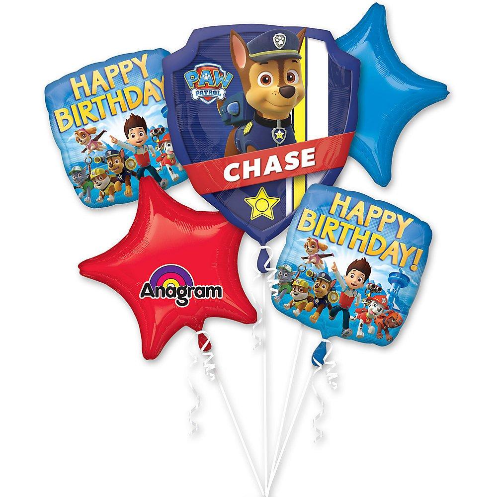Amazon.com: Paw Patrol ramo de globos – Suministros para ...