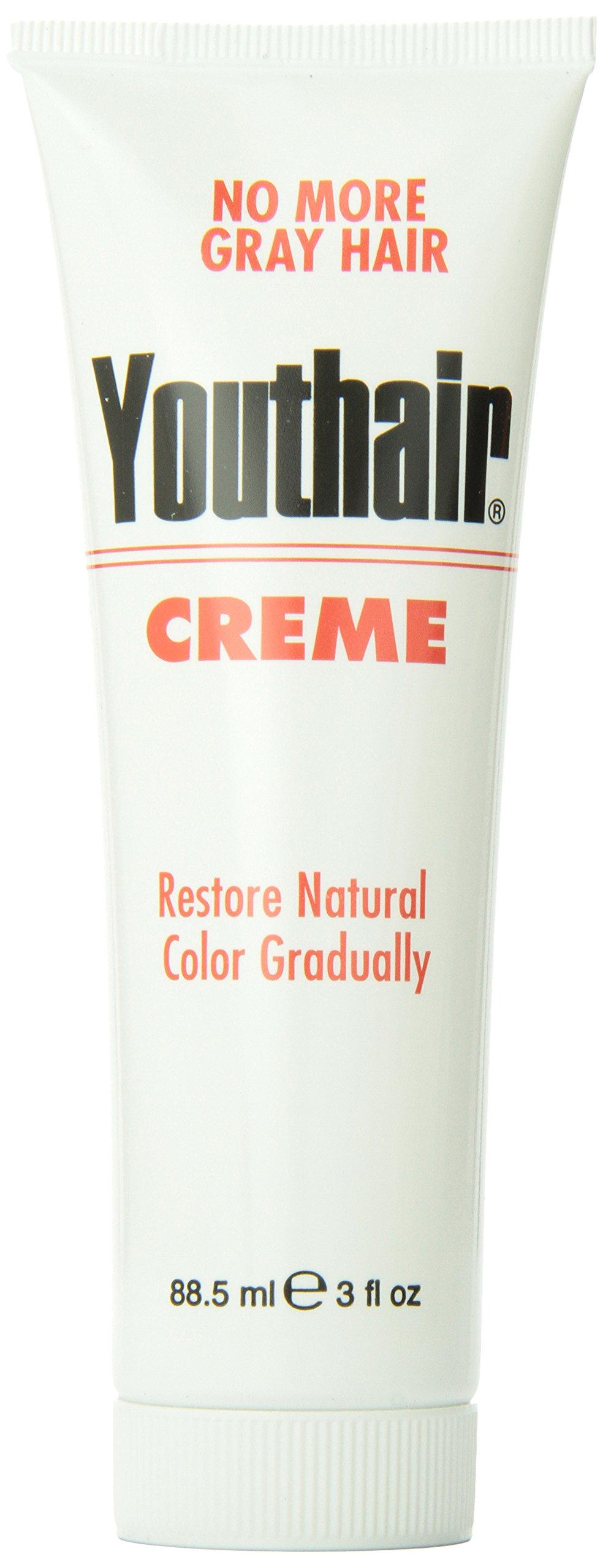 Youthair Creme Tube, 3-Ounce(Pack of 3)
