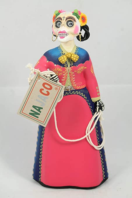 Amazoncom Najaco Premium Mexican Lupita Doll Charra Catrina