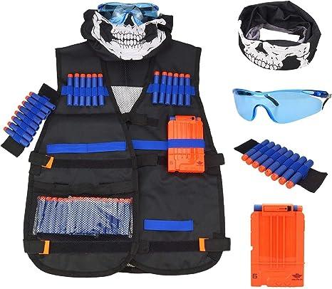 Nerf Tactical Vest Kit for Guns boys N-Strike Elite Series Dart Soft Darts Toys
