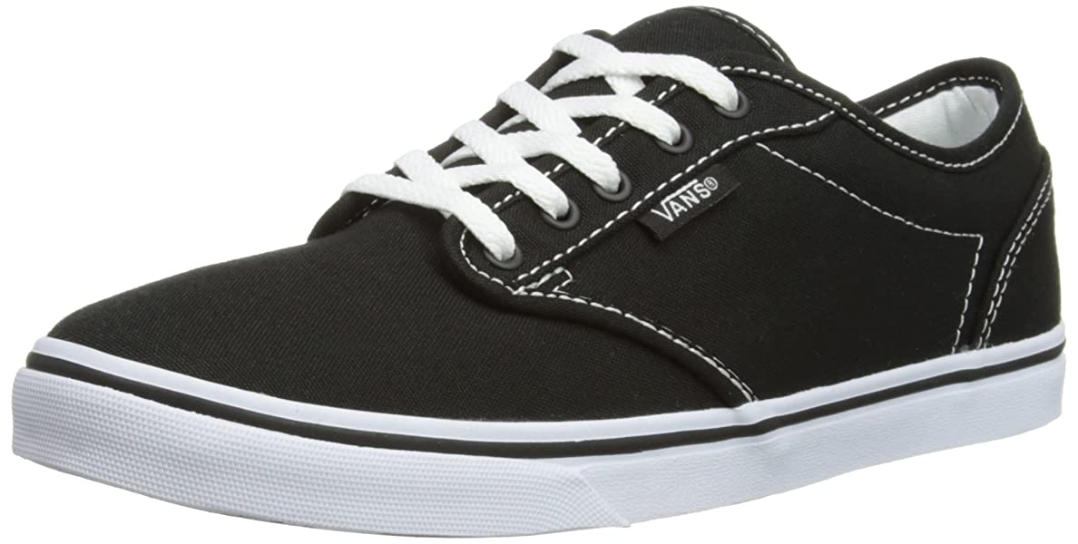 Womens Atwood Low Canvas Black/White Size 5 Womens