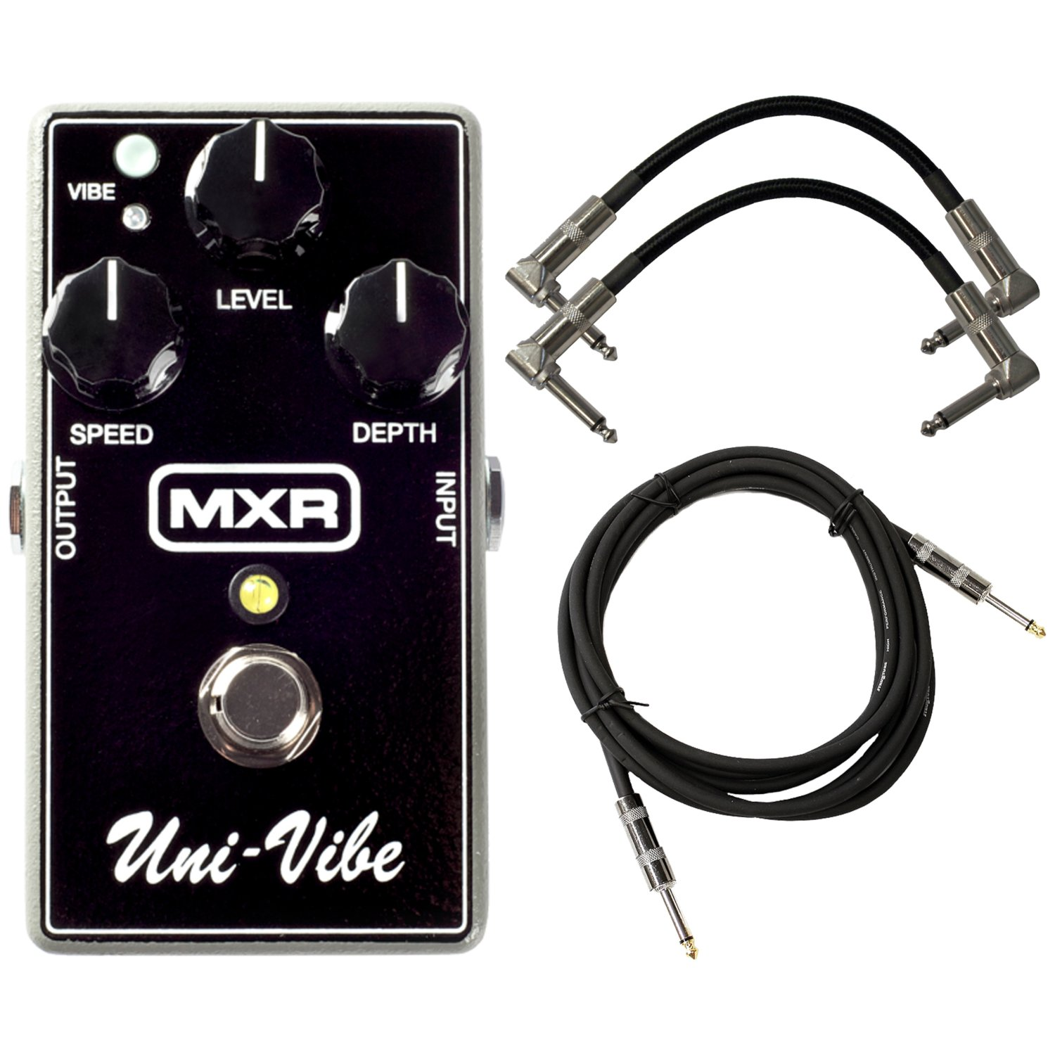 MXR M68 Univibe Effects Pedal w/ 3 Cables by MXR