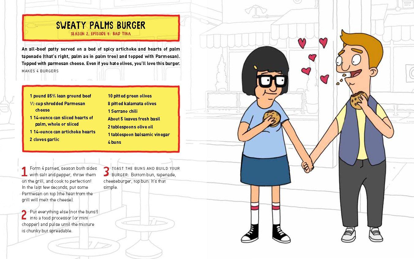 The Bobs Burgers Burger Book Real Recipes For Joke Loren Bouchard Cole Bowden 9780789331144 Amazon Books