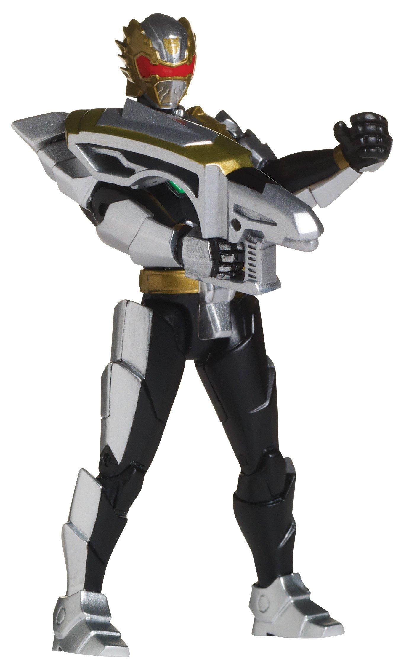 Power Rangers Megaforce Action Figure Robo Knight Power Ranger 4 Inch 4