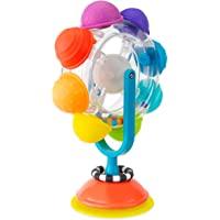 Sassy Light Up Rainbow Wheel Tray Toy, Multi