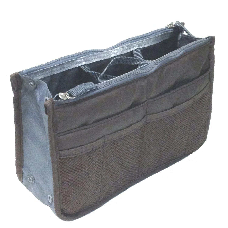 Tapp Collections™ Multi-pocket Nylon Purse Insert Organizer