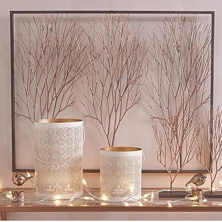 Libra Copper Tree Wall Art | 3D Trees Artwork in Frame: Amazon.co.uk ...
