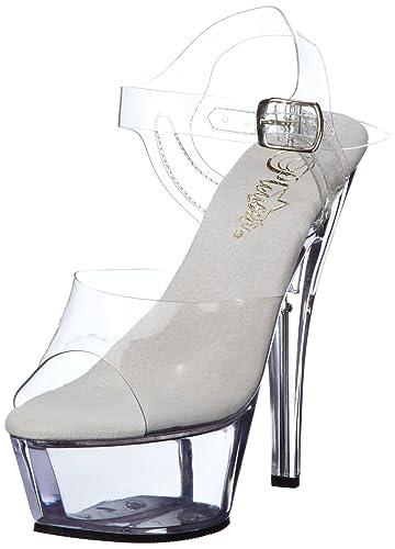ec46cdf501b Pleaser Women s Kiss208 C M Platform Sandal