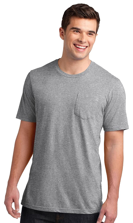 District Men's Crewneck Short Sleeve Pocket T-Shirt
