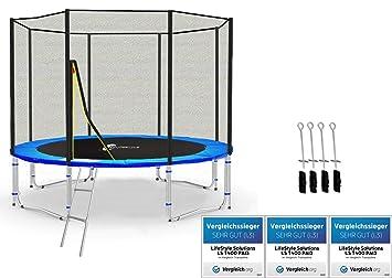 LS-305 LifeStyle ProAktiv Trampolin 305cm ohne Netz