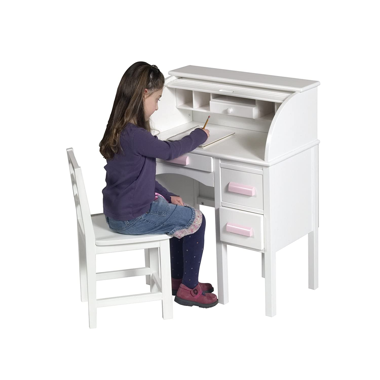 Amazon Guidecraft Jr Roll Top Desk White G Baby