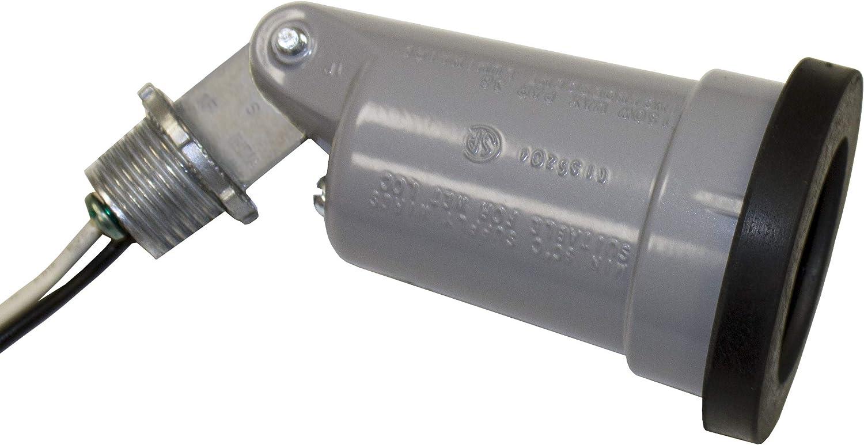 Bell Outdoor 5606-0 Weatherproof Outdoor Swivel Lampholder Gray
