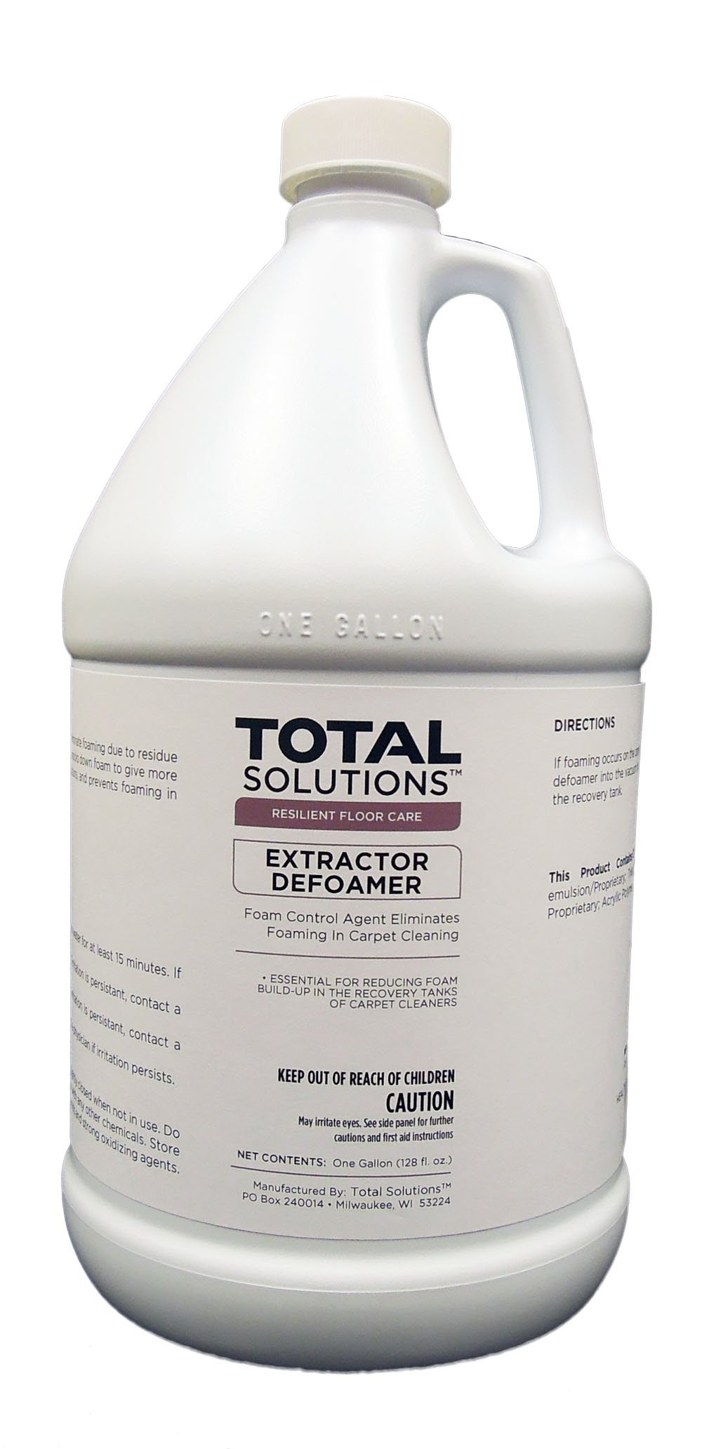 Extractor Defoamer, Concentrated Anti-Foam Additive - 4 Gallons
