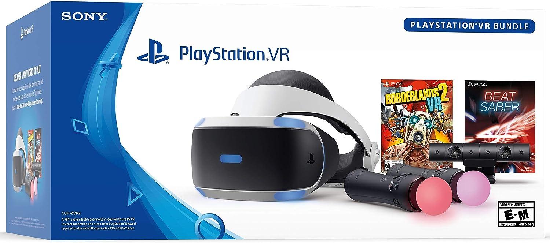 Amazon Com Playstation Vr Borderlands 2 And Beat Saber Bundle Video Games
