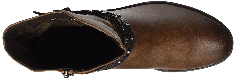MARCO TOZZI Stiefel Damen 25364 Biker Stiefel TOZZI Braun (Cognac Ant.com) ab3152