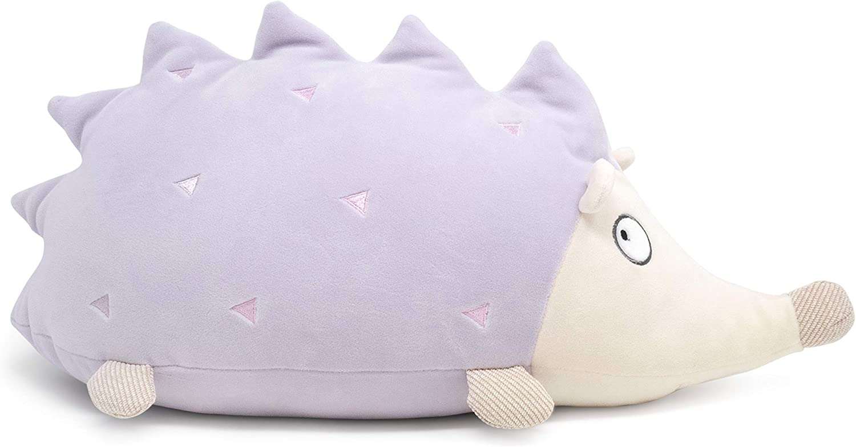 "Light Lavender Purple Super Soft Stuffed Animal Plush Toy Hugging Pillow Cuddle Barn Hoyo The Hedgehog 20/"""
