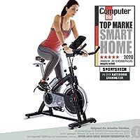 Sportstech Indoor Speedbike SX200 sportapparaat voor thuis, Duits kwaliteitsbedrijf + video-evenementen en multiplayer…