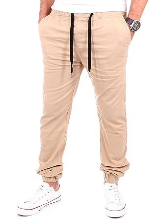 Reslad Chino Hose Herren Freizeithose Jogginghose   Herren-Hosen Slim Fit    Stoffhose für Männer Jogging Hose Lang   Jogger Jeans Pants  Amazon.de  ... 5f841bf31b