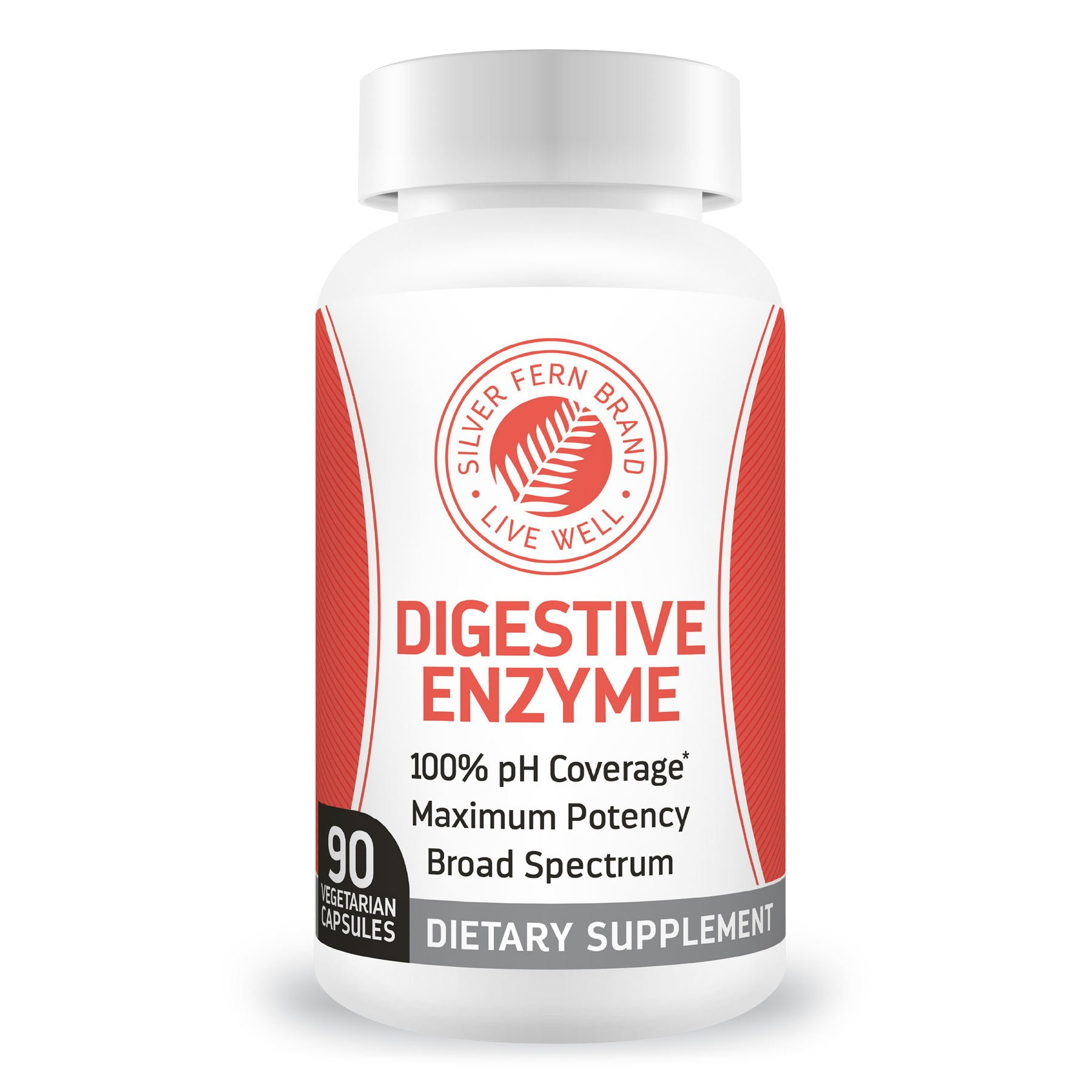 Amazon.com: Silver Fern Brand Ultimate Digestive Enzyme Supplement ...