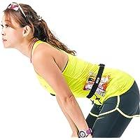 Triathlon Running Bib Race Number Gel Belt With 6 Gel Loops - Race Belt with Number Holder - Great For Marathon - Halfmarathon and Triathlons