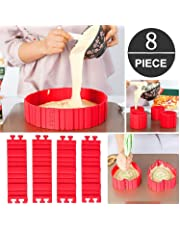Anillos para tartas, Bake Snakes Silicona Cake Moldes Hornea r Diy Todas las clases de