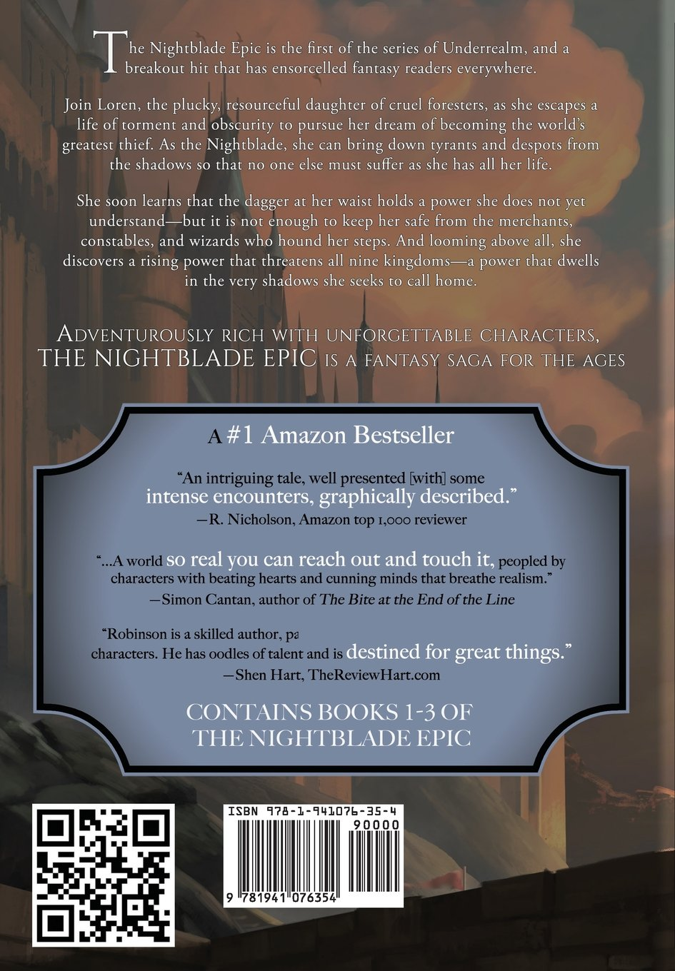 The Nightblade Epic Volume One: Garrett Robinson, Karen Conlin:  9781941076354: Amazon: Books